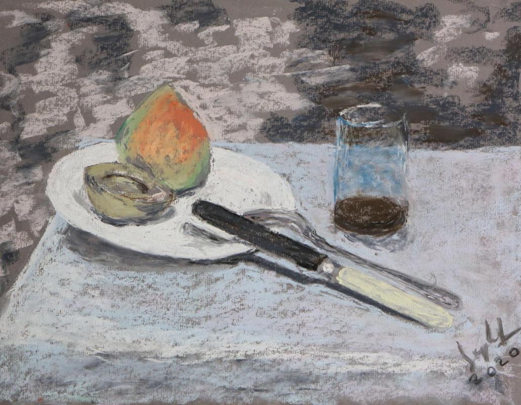 Guy lefrancois pastel 1