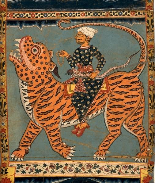 Pir gazi and his tiger in sundarbans 1